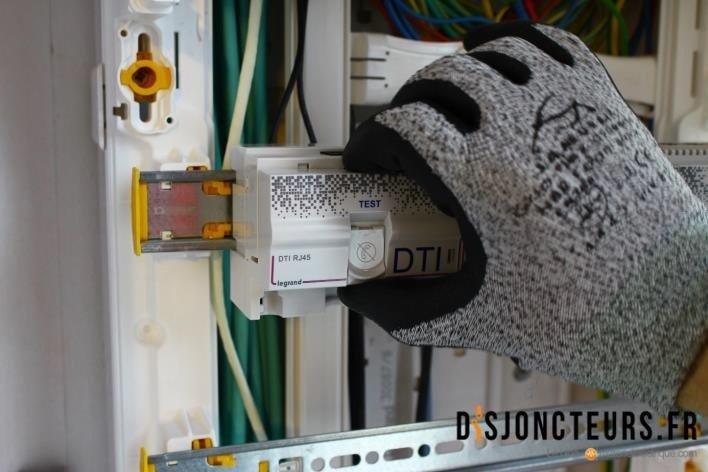 Installation VDI - Fixation DTI