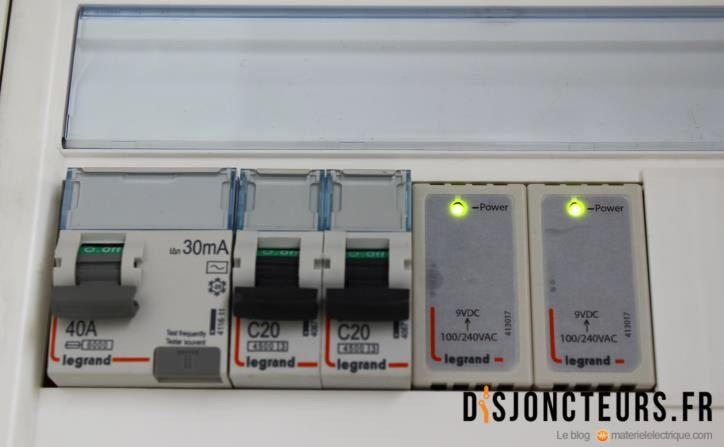 Installation VDI - LED switch Ethernet