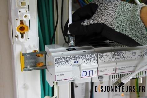 Installation VDI - Raccordement câble RJ45