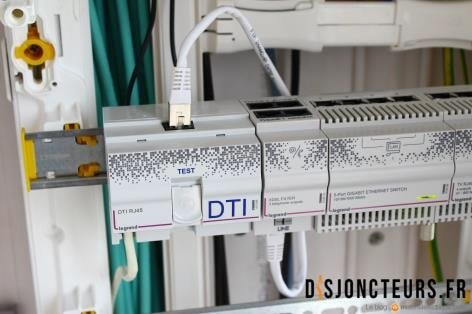 Installation VDI - RJ45 - DTI