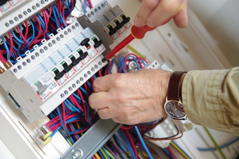 Disjoncteur dans un tableau électrique