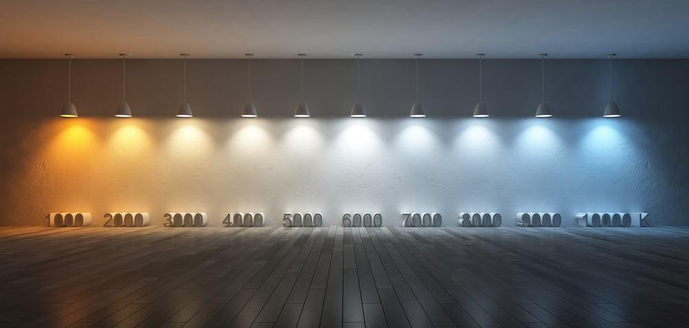L'éclairage LED et les températures de couleurs