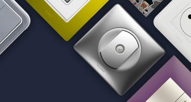Prises et interrupteurs de marque Legrand