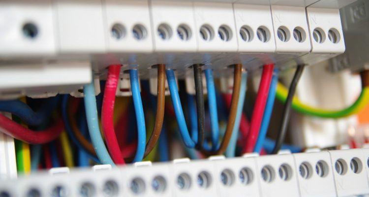 Tableau électrique de distribution