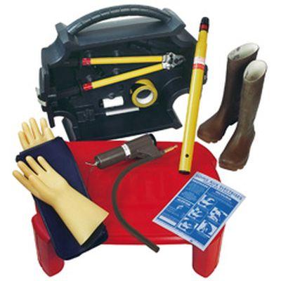 Protection pour travaux électriques