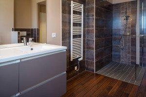 Installation électrique et douche