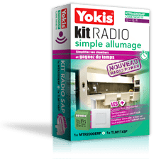 Kit radio Yokis - Simple allumage