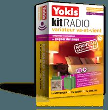 Kit radio Yokis - variateur