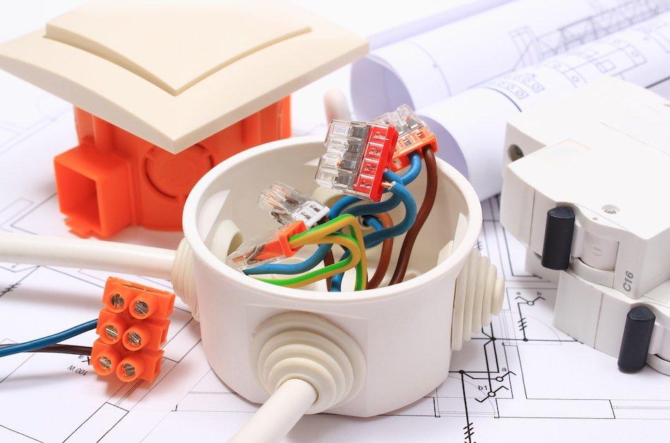 Connecteurs électriques de la marque Wago