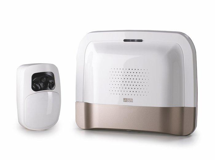tyxal de delta dore une alarme intelligente pour votre habitation. Black Bedroom Furniture Sets. Home Design Ideas