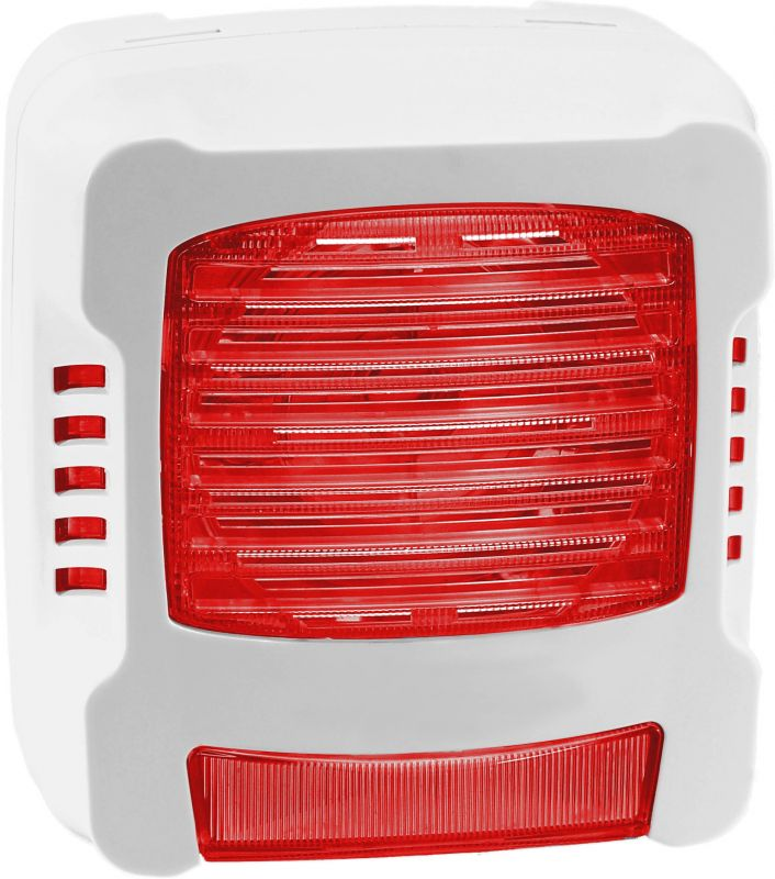 Diffuseur Sonore Lumineux Flash Rouge - Réf: 12146