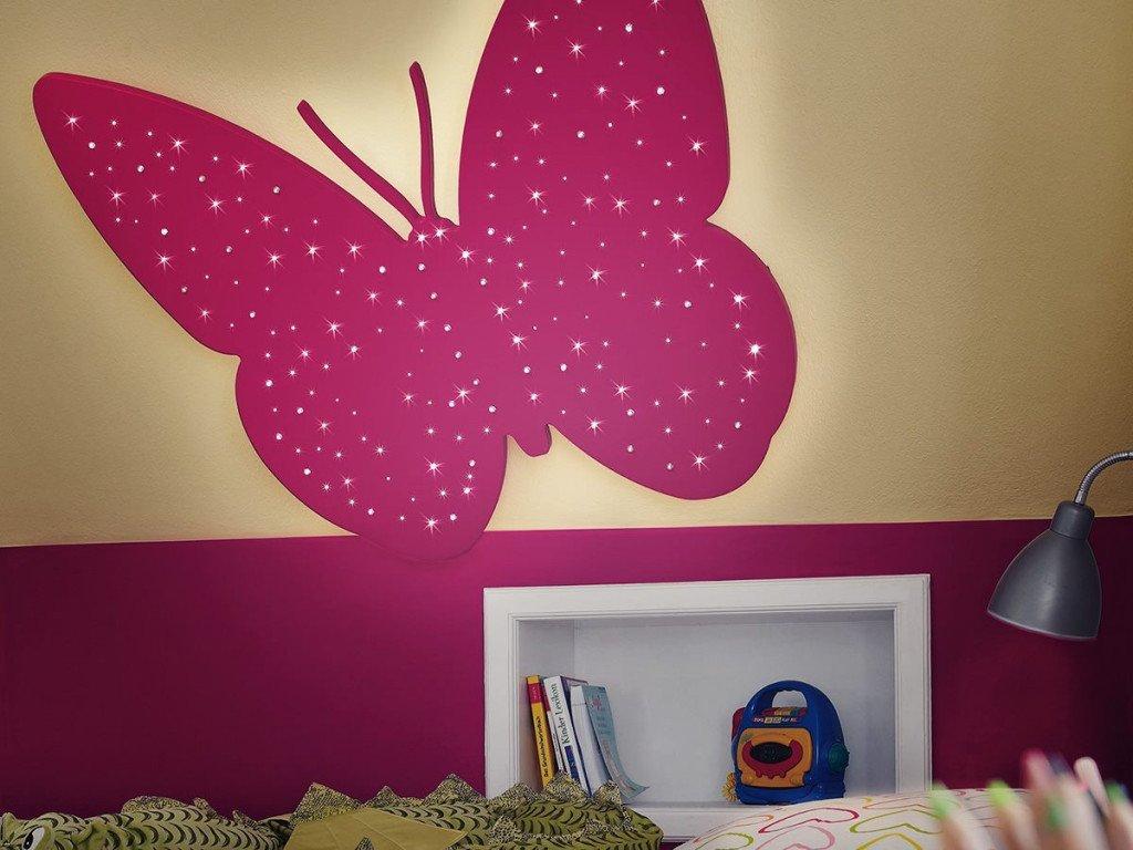LED et chambre d'enfants
