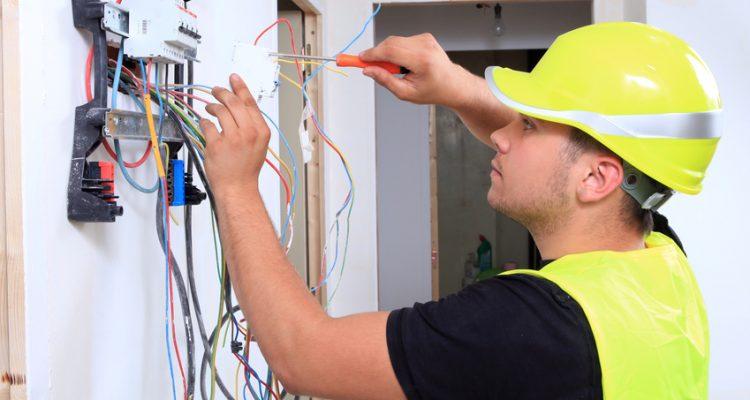 Préparation du tableau électrique