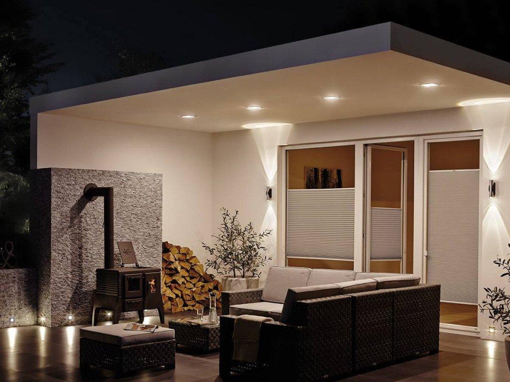 Aménagements extérieurs avec des LED adaptés