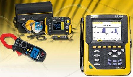 Une gamme complète d'appareils de mesure