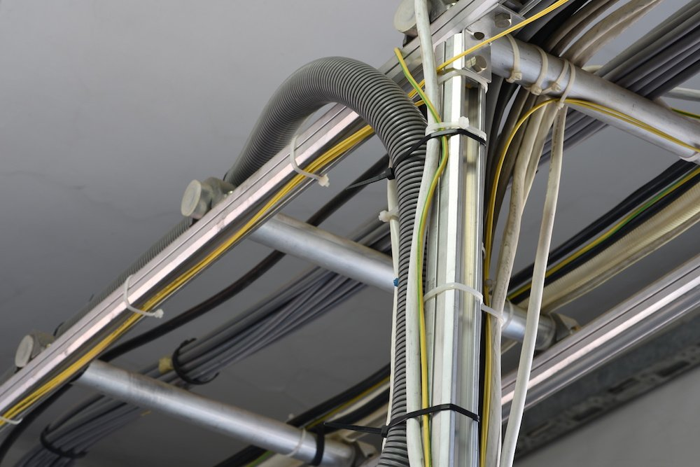 Canalisation électrique
