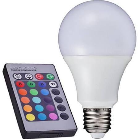 Ampoule LED avec modulation des couleurs