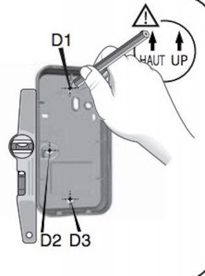 Pose du clavier tactile CLT 8000 TYXAL+ | Delta Dore - 03a