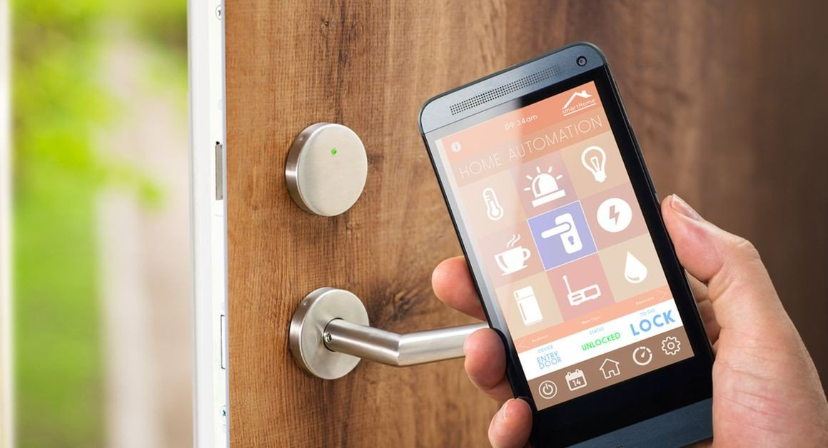La serrure connectée commandée avec votre smartphone