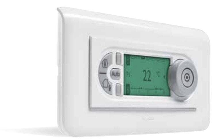 Le thermostat d'ambiance électronique de la gamme Mosaïc
