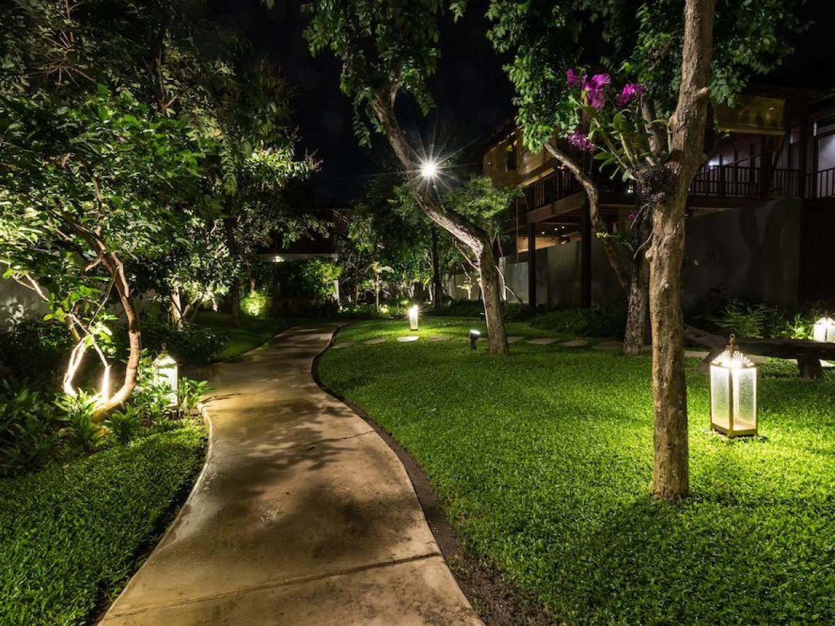 Eclairage De Terrasse Sur Pied l'éclairage de jardin et les tendances décoratives de l