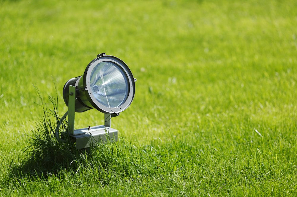 Spot de sol permet un éclairage directionnel