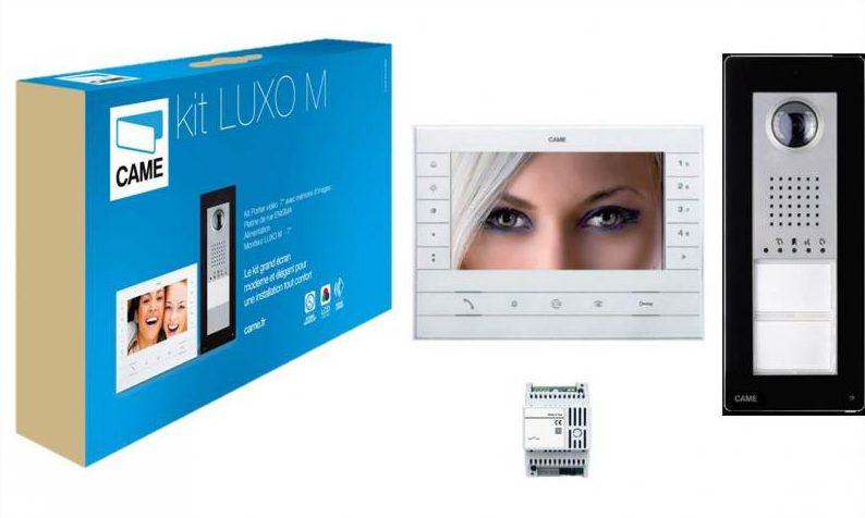 Le vidéophone Luxo de Came