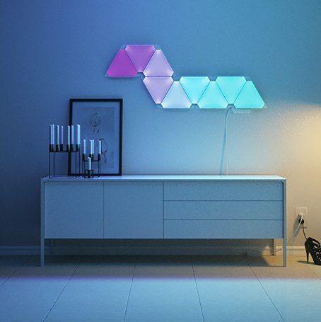 L'éclairage Nanoleaf