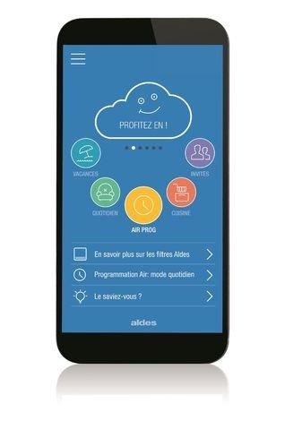 Aldes Connect : Pilotage de votre ventilation Aldes depuis votre smartphone