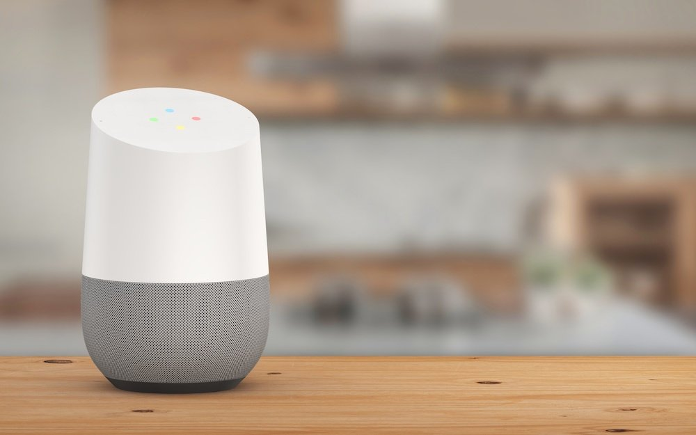 La commande vocale par Google Home