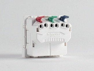 Vue arrière d'un interrupteur Unica 2