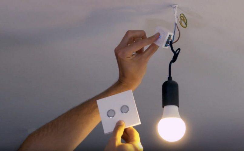 Dio et ses modules d'éclairage connecté.