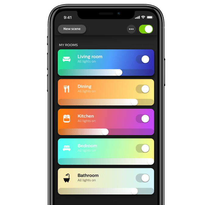 Application mobile Philips Hue