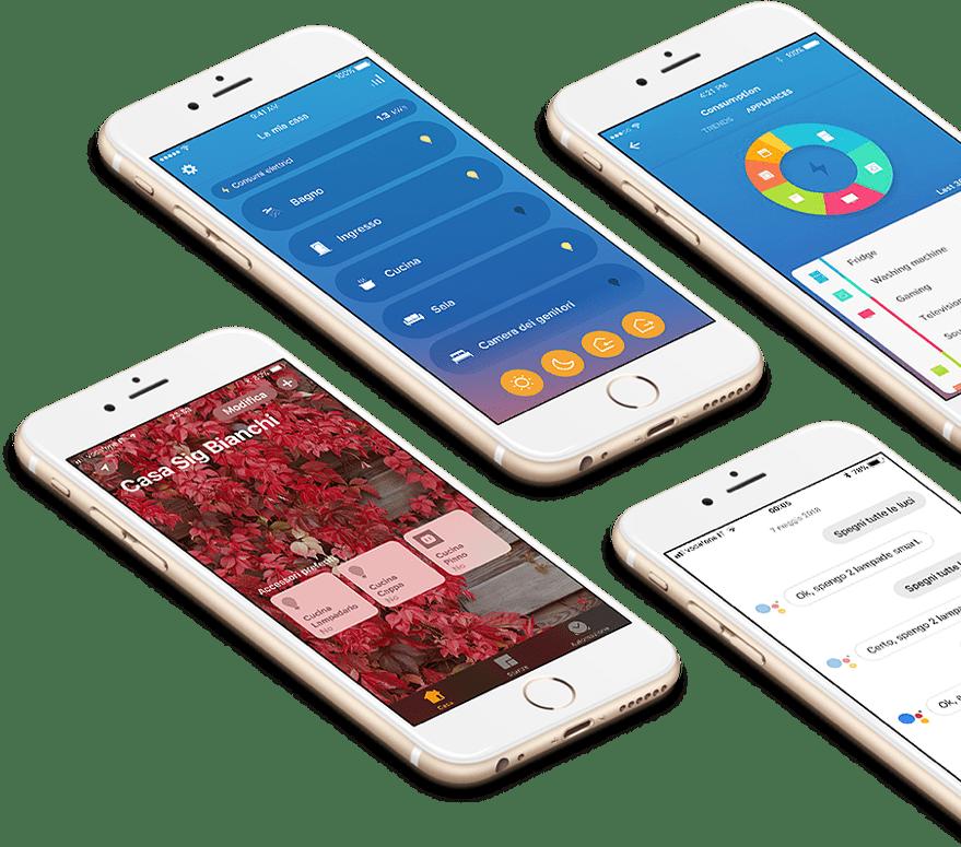 Application mobile Home Control de Legrand