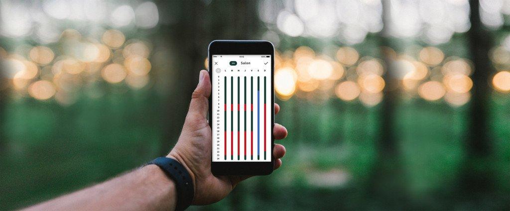 Pilotage Heatzy avec un smarthone