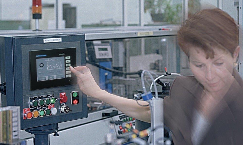 La gamme d'appareillage industriel Harmony de Schneider Electric