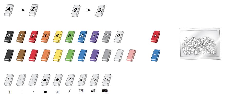 Les couleurs de la gamme Plio