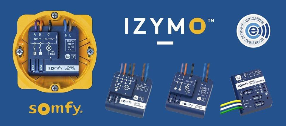 Les micromodules Izymo de la marque Somfy