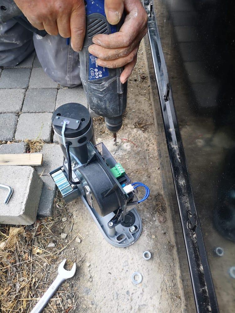 Tutoriel d'installation du kit de motorisation de portail coulissant Thomson 0005