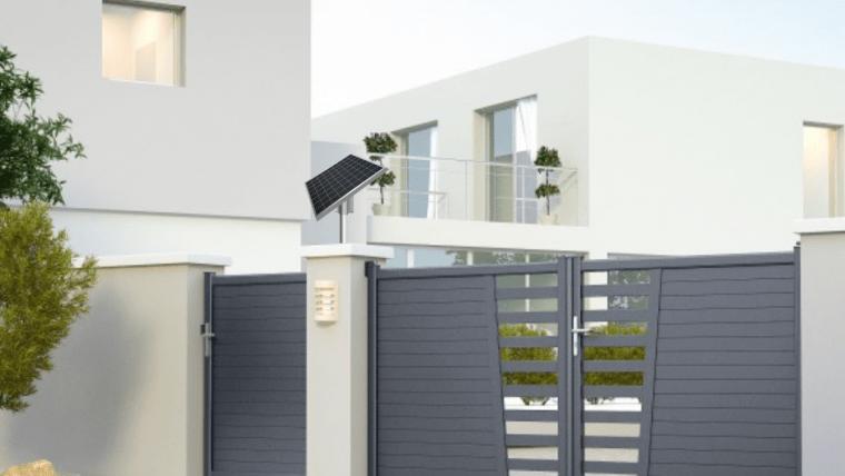 Motoriser son portail à l'énergie solaire