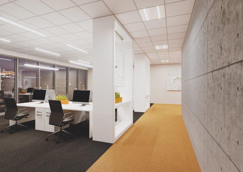 Luminaires de bureaux IndiviLed