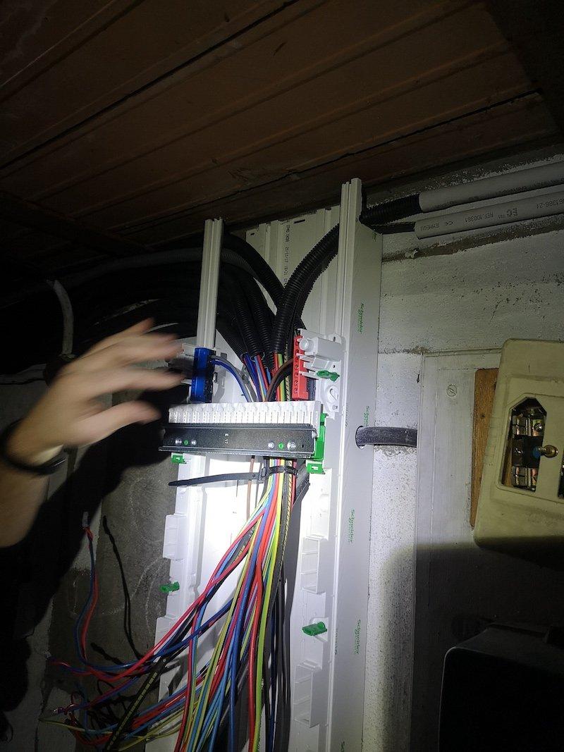 Rénovation d'un tableau électrique - 34