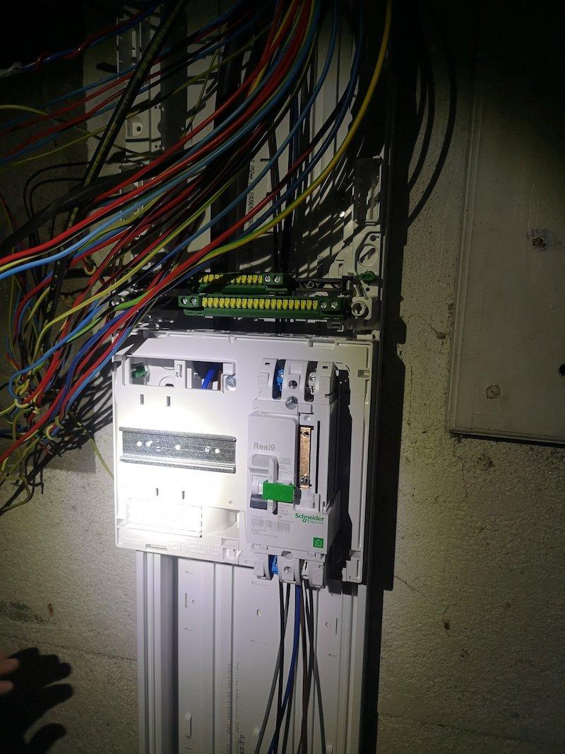 Rénovation d'un tableau électrique - 35