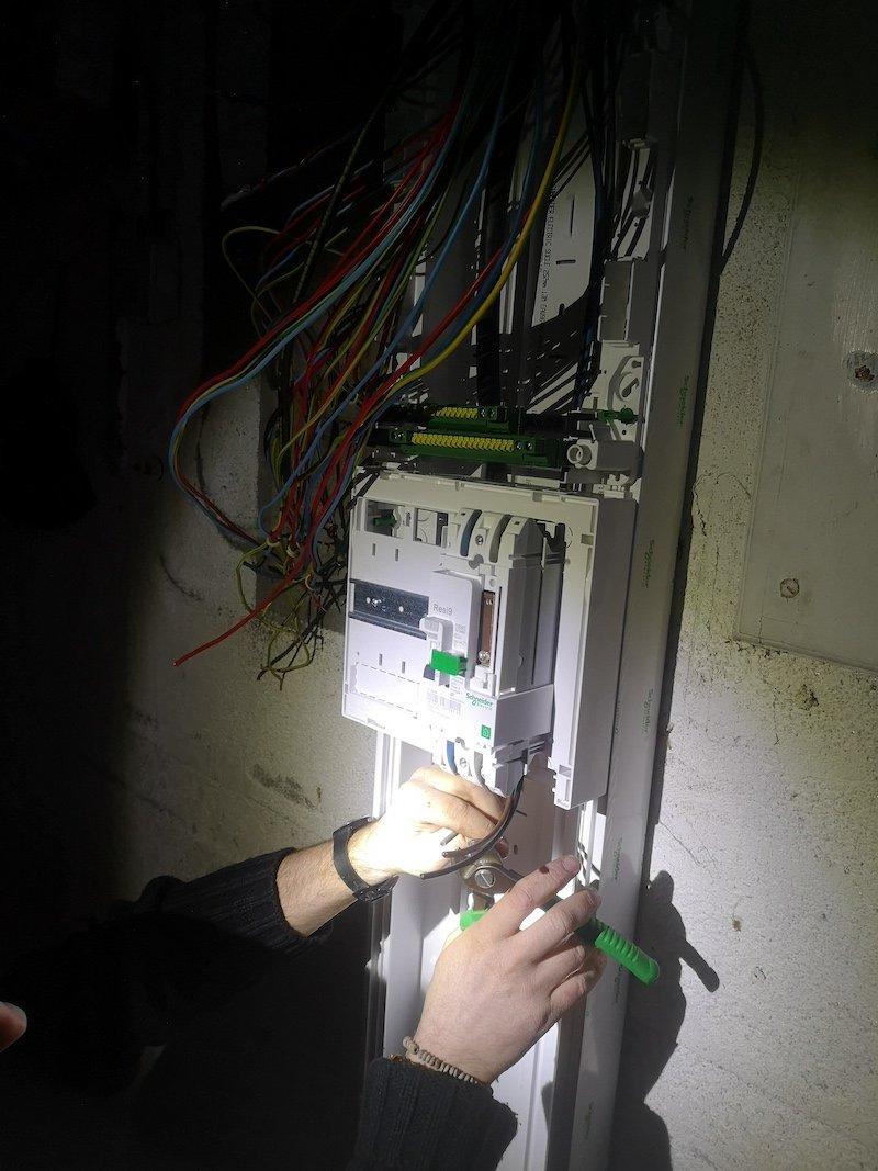 Rénovation d'un tableau électrique - 36