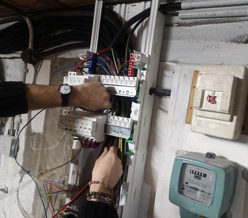 Rénovation d'un tableau électrique - 42