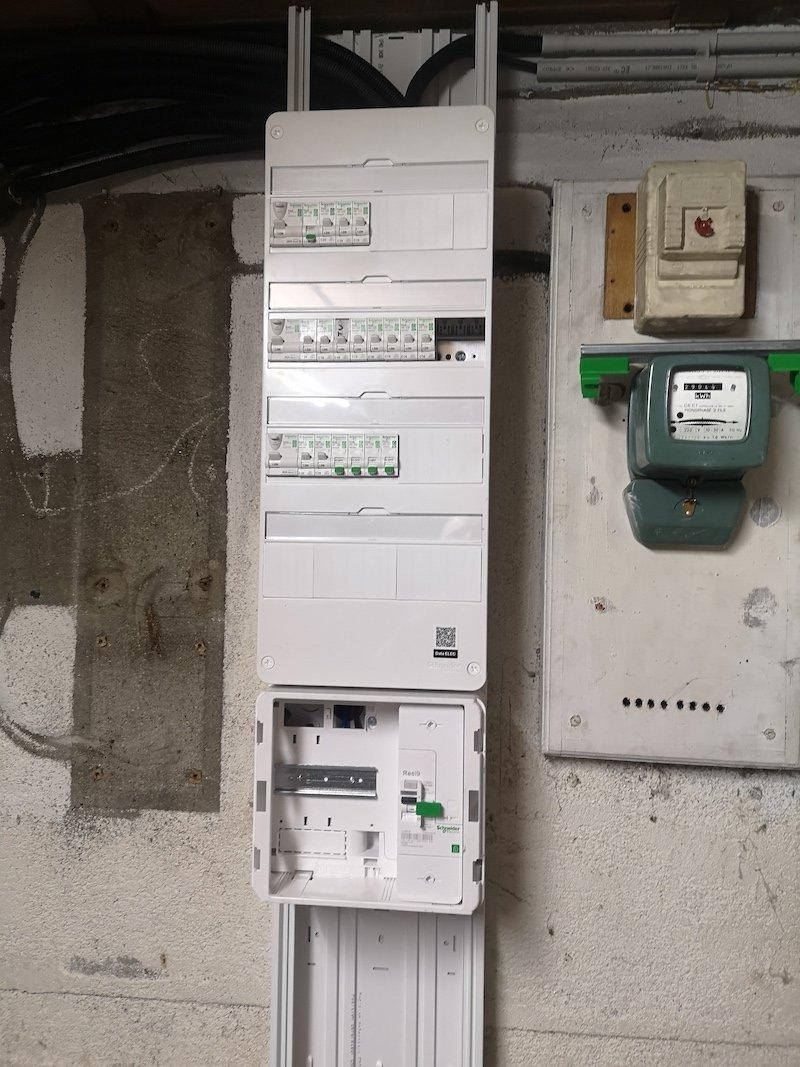 Rénovation d'un tableau électrique - 43