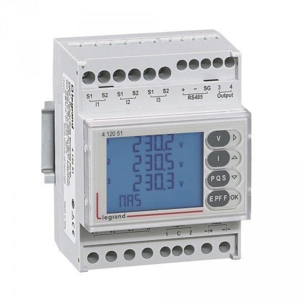 EMDX³ : centrales de mesure multifonctions Legrand