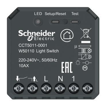 Micromdule Wiser de Schneider Electric